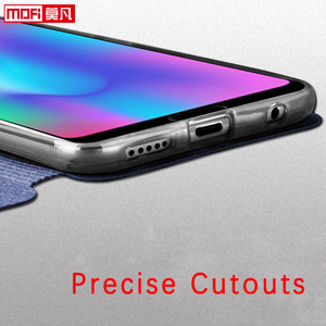 Image 4 - flip case for huawei honor 10 case Honor 10 cover leather tpu slim book back luxury glitter Mofi silicon Honor 10 stand case pu