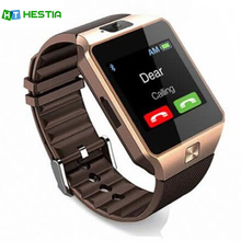 HESTIA DZ09 Smart Watch With Camera Bluetooth WristWatch SIM Card Smartwatch For Android Phones Support Multi languages