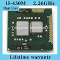 Пожизненная гарантия двойной Core i5 430 м 2.26 ГГц 430 ноутбук процессоры ноутбук процессора PGA 988 официальная версия компьютер оригинальный