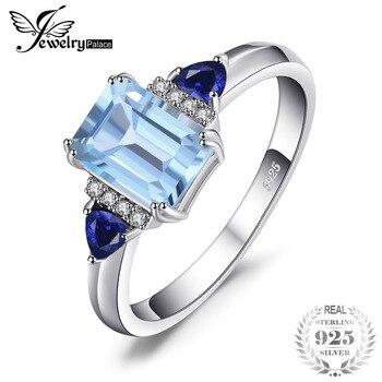 3b9e1b8890d6 Joyería Palacio mariposa creado azul Spinel colgante 925 Plata de Ley 100%  no incluye una cadena de encanto de moda para mujer
