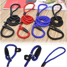 2016 New Pet Dog Nylon Rope Training Leash Slip Lead Strap Adjustable Traction Collar 5GBY