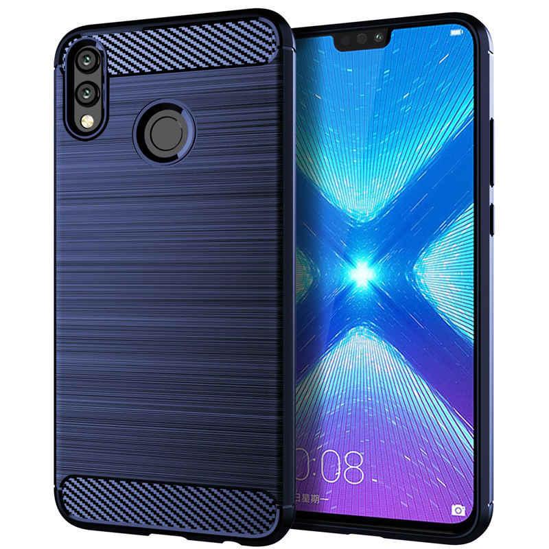 الشرف 8X حالة الشرف 8X ماكس حالة سيليكون لينة الغلاف الخلفي الهاتف حافظة لهاتف huawei الشرف 8X ماكس Honor8X 8X8 XMax Honor8XMax كوكه