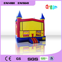 Free Shipping Children Trampoline Bouncer House Inflatable Bouncer Castle Inflatable Slide Castle Modle Toy For Kids
