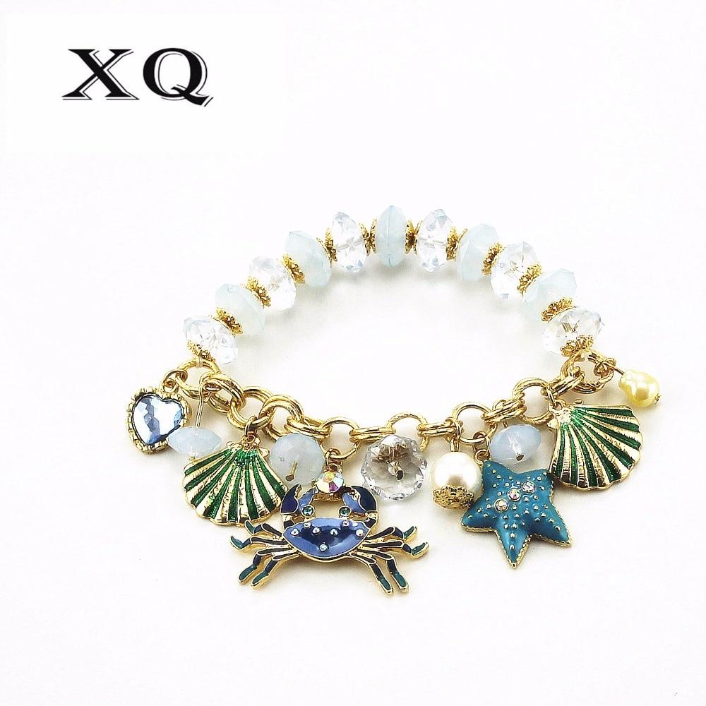 Ladies Jewelry Crab Shell...