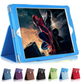 For iPad Air 2 case Matte Litchi Soft Artificial Leather Cover Auto Sleep Wake Up For ipad air 2 iPad 6 Magnetic Flip cover