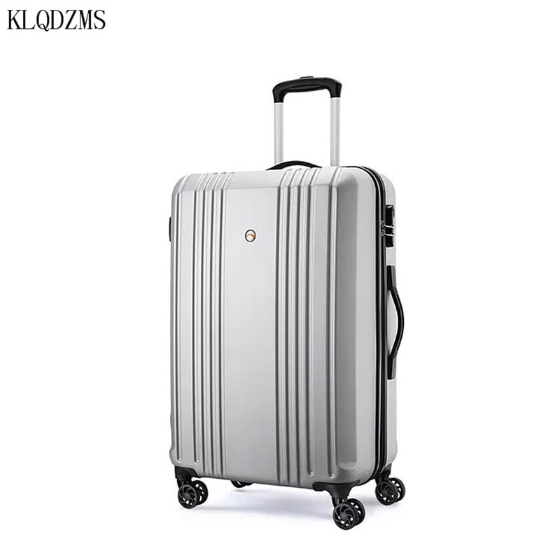KLQDZMS 24inch Rolling Luggage Women Travel Suitcase  Long Way Trip Trolley Suitcase on Wheel Men Fashion Design mala de viagem