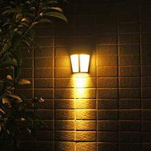 6 LED Solar Outdoor Light Energy Saving Wall Lamp Solar Security Lights for Outdoor Garden Landscape LED Lights Decorative