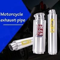 Universal Motorcycle Yoshimura WR'S Exhaust pipe 400cc/250cc For Honda Kawasaki yamaha CB400 VTEC CBR400 CBR25 R6 ZRX400 VFR400