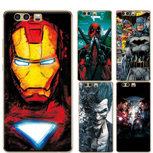 For Huawei Honor 9 Honor9 Phone Case Coque Charming Avengers Iron Man Fundas For Huawei Honor 9 5.15 inch Soft Silicone Cover