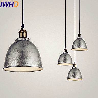 IWHD LED Edison Vintage Pendant Light Fixtures Home Indoor Lighting Style Loft Industrial Lamp Hanglamp Lamparas Colgantes america country led pendant light fixtures in style loft industrial lamp for bar balcony handlampen lamparas colgantes