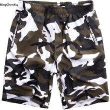 Shorts de camuflagem para praia, calção de banho masculina para praia e banho de tamanho grande, verão, tamanhos grandes S-8XL, plus size 4917
