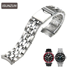 ISUNZUN Hot Sale Watch Band for Tissot RS200 T066 Watch Strap T067417A Steel T066.407 Steel Watch Band Fast Shipping все цены