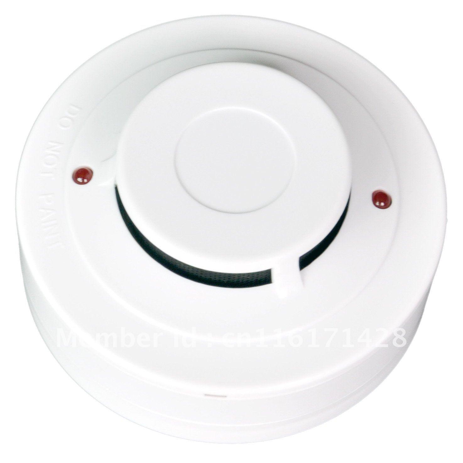 Conventional Photoelectric Smoke Detector YT102C 2 Wire Smoke Alarm Optical Smoke Probe Sensor