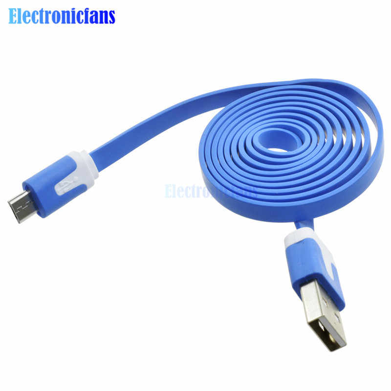 1m 3.3ft USB Cable Blue For Wemos D1 For Wemos D1 Mini NodeMcu Wire