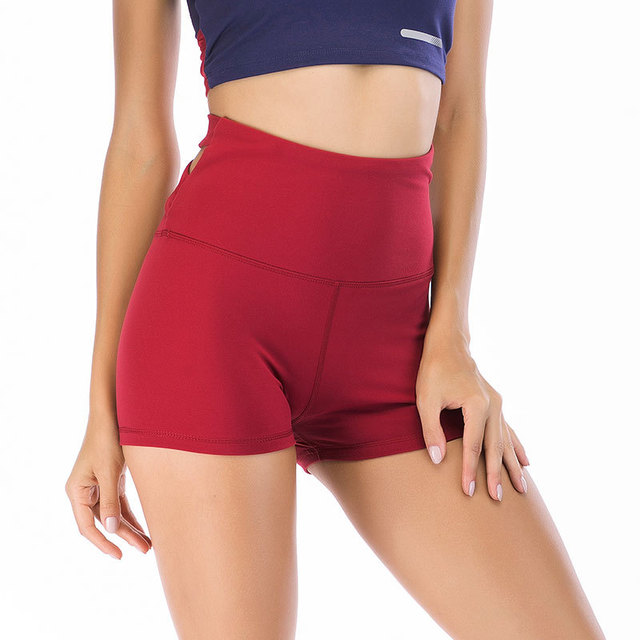Autumn Summer Sport Short For Women Gym Workout Cross Beautiful Buttocks Fitness Athletic Shorts Running Yoga Sportswear 3