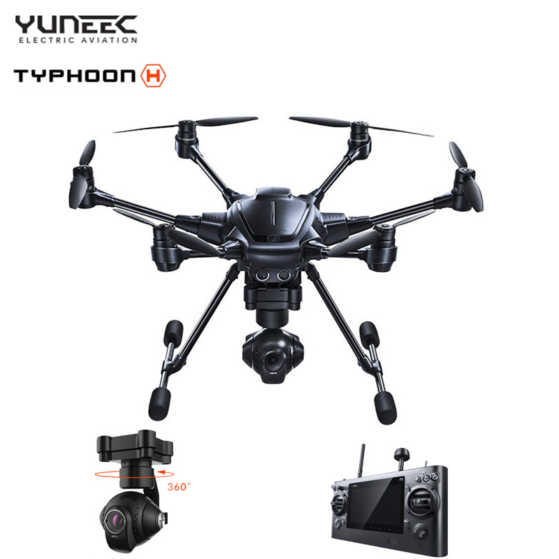 IN Stock Yuneec Typhoon H Advanced RTF RC Helicopter 5.8G FPV With CGO3+ 4K Camera 3-Axis Gimbal vs DJI Phantom 3 4