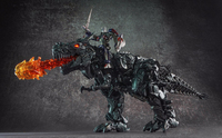 WEIJIANG WEI JIANG Transformation SS07 58CM Dinosaur Enlarged edition Diecast Oversized Grimlock with OP Action Figure toy