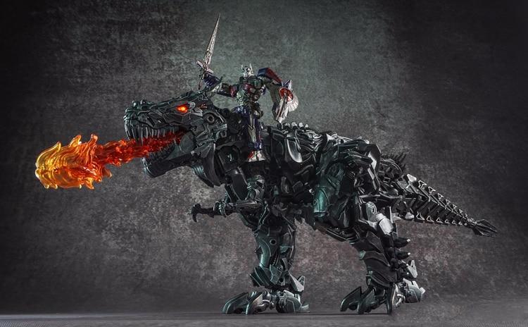 WEIJIANG Transformers M06 Steel cable Machine dinosaur Tyrannosaurus in stock
