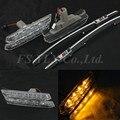 20 шт. СВЕТОДИОДНЫЕ Боковые лампы Автомобиля света для BMW 3 Серии E46 2D 4D 5D Сторона Указатель Поворота Боковой Габаритный Фонарь для BMW E46 ясно///M