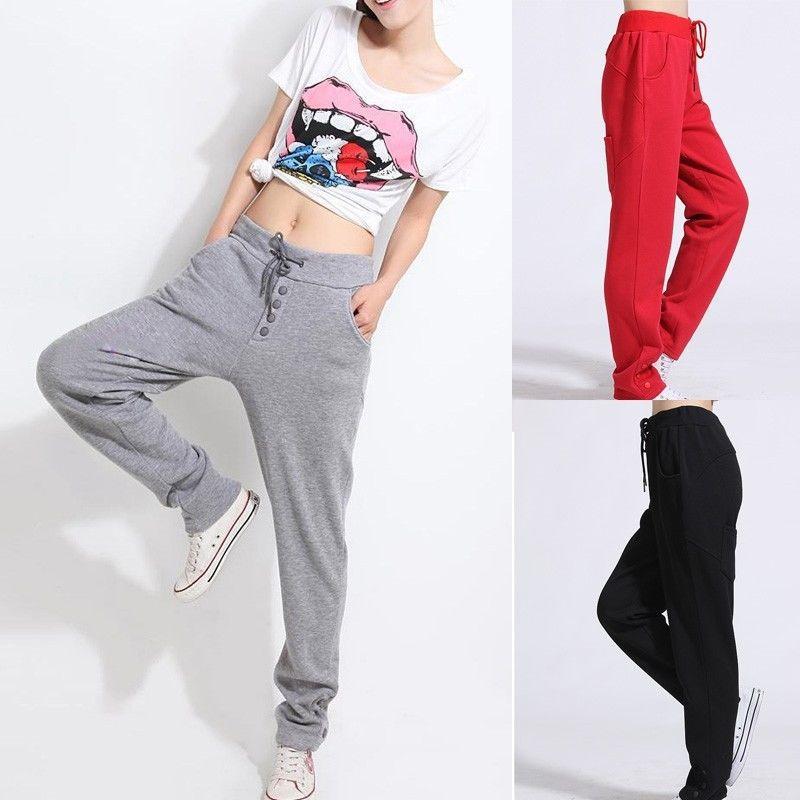2017 Sweatpants Brand New Women Pants Active Wear Baggy ...