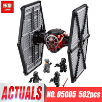 Lepin 05005 Genuine Star Series Wars The First Order Tie Set Fighter Legoing 75101 Building Blocks