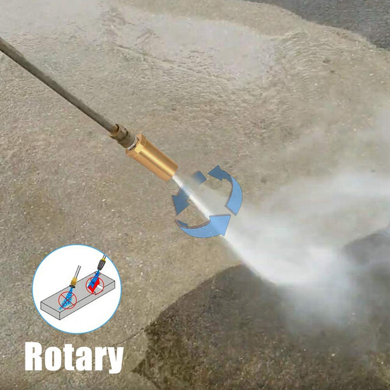 Car Washing Pressure Washer Rotating Turbo Nozzle 3600 Psi, 4.0 Orifice, 4.0 Gpm