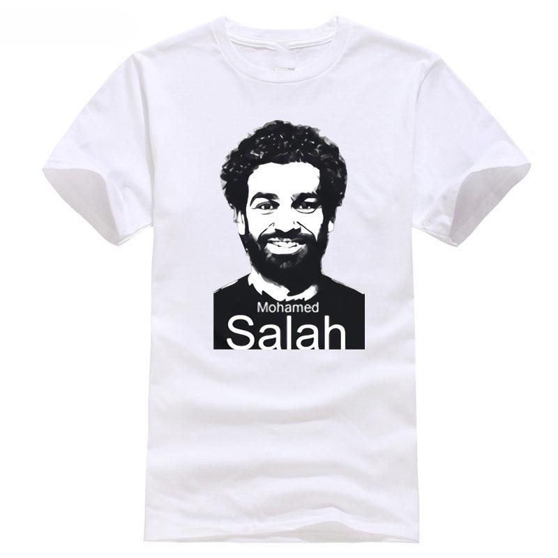 2018 champions NO.11 and world liverpool league footballer soccersing cup Egypt player NO.10 salah T shirt