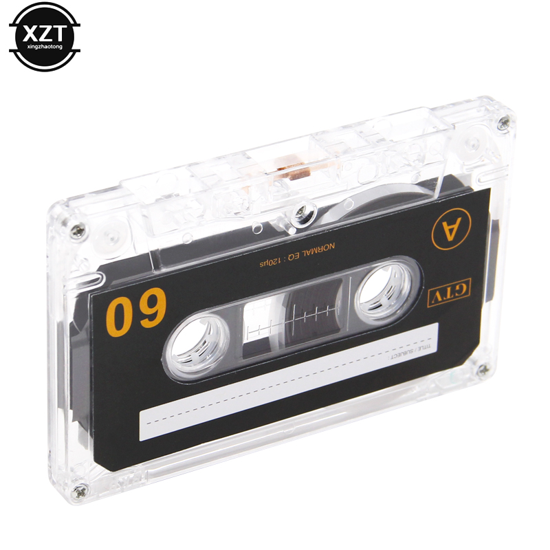 1pcs Standard Cassette Blank Tape Player Empty 60 Minutes Magnetic Audio Tape Recording For Speech Music Recording high qulity 2