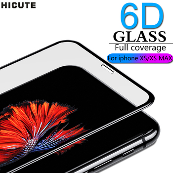 6D Full coverage protective glass for iPhone X Xr XS max glass iphone XS max Xr screen protector iPhone X XS max Xr glass flim