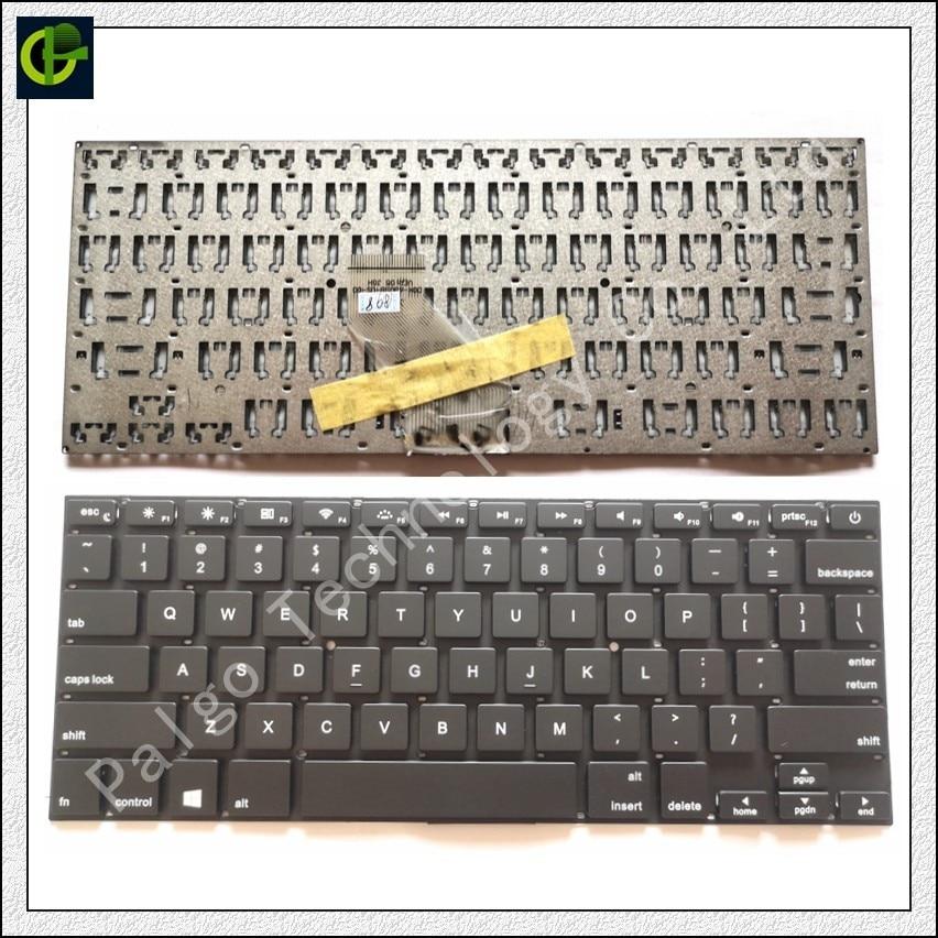 Teclado para xps13 XPS13-8808 ENZ C16B C16S A1188 IFUNK 13,3 pulgadas DOK-V6309B Haier 1403 W 1406 W puente EZbook 2 3 s I7S inglés