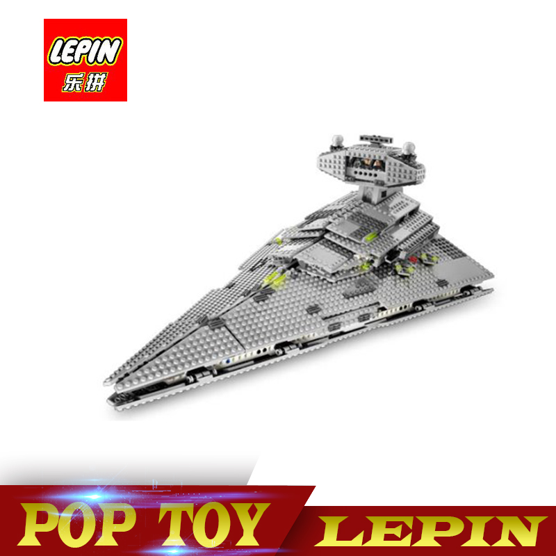 DHL Lepin 05062 1359pcs Star Series War The Imperial Super Star Destroyer Set Building Blocks Bricks Compatible legoed 75055 Toy bela building blocks guardians of the galaxy groot rocket star space war set diy bricks toy compatible with superheroes
