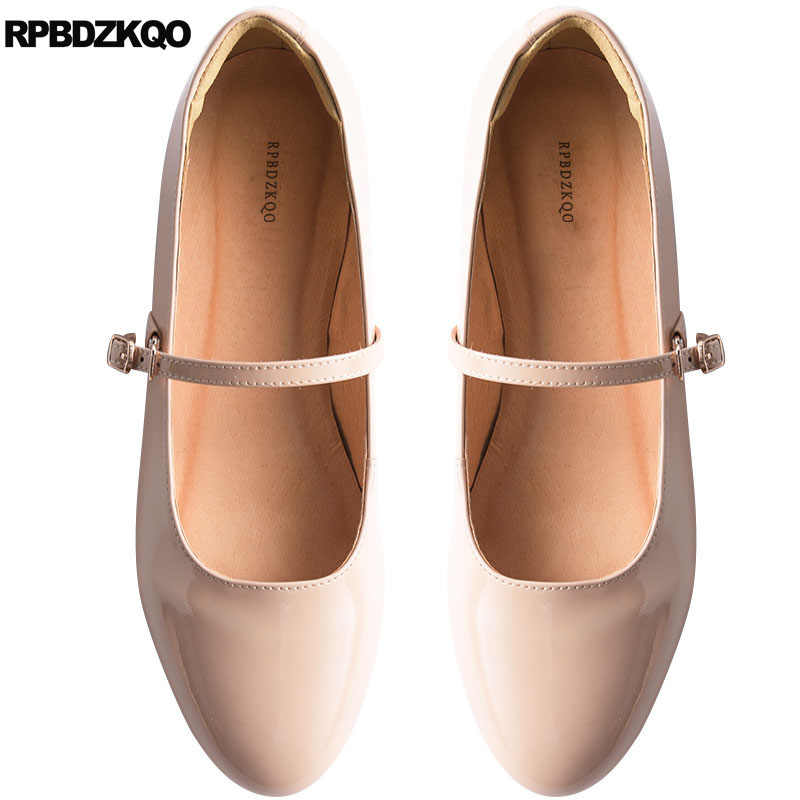 Square Toe Suede Japanese School Comfy Brown China Ankle Strap Ladies Ballerina Designer Shoes Mary Jane Soft Ballet Flats Women Discount Shoes Mens