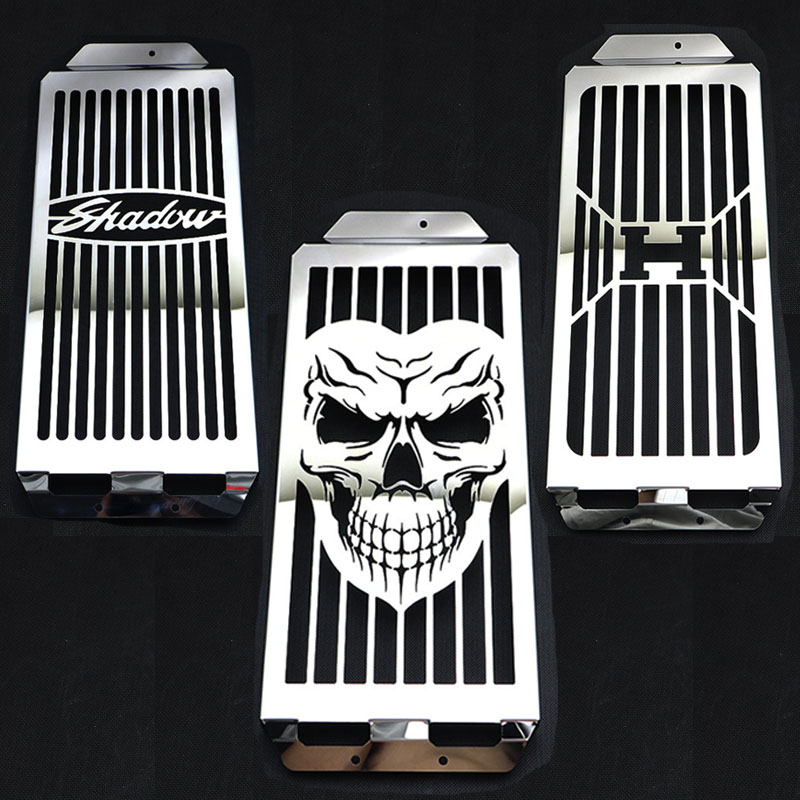 Motorcycle Water Coolant Radiator Grill Grille Tank Cover For HONDA Shadow Aero VT750 2004 2013 VT 750 C2 Spirit 2007 2009
