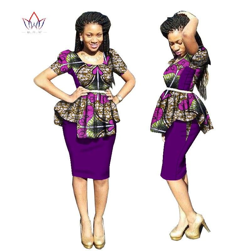 2018 Nykomlingar Traditionell afrikansk klänning Plus Storlek 2 - Nationella kläder - Foto 4