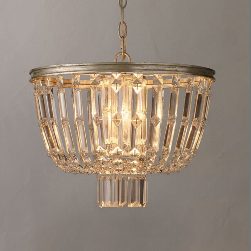 Aliexpress Contemporary Crystal Silver Chandelier French Country Light Ing Home Lighting Fixtures 3 Candle Lights From