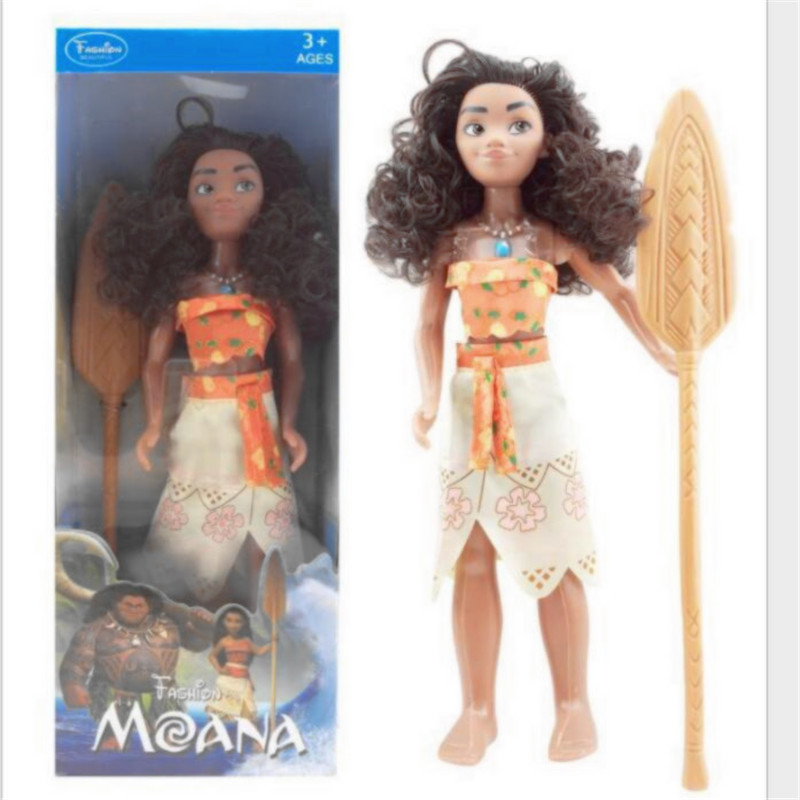 Vaiana boneca moana cosplay princess adventure models toys cartoon movie maui moana doll anime figures toys for children gift emoticon grocery print coin purse
