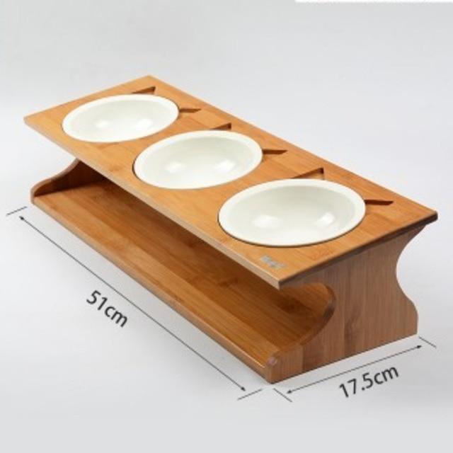 Solid Wood Anti-slip Bowls  2