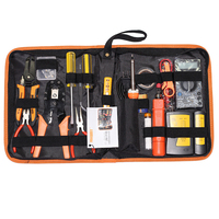 JM P15 network repair tool set kit+ electric pen measuring cable tester+ iron crimping pliers toolbox repairing tools