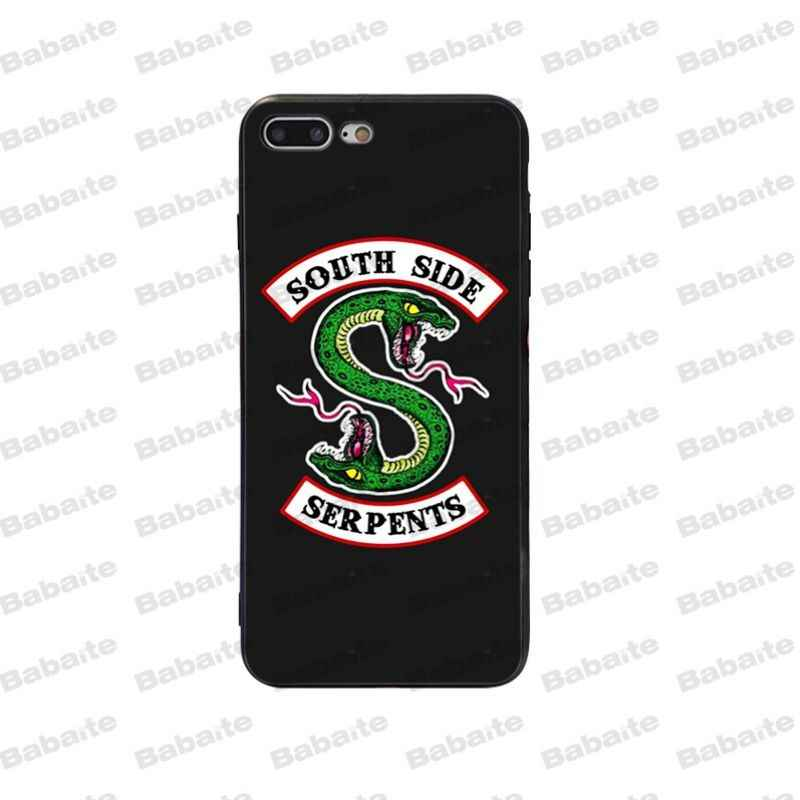 Babaite American tv riverdale Jughead Jones Cover Black Soft Shell Phone Case for Apple iPhone 5 5S SE 6 6S 7 8 Plus X XS MAX XR