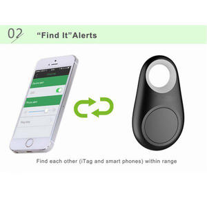 Smart Bluetooth GPS Tracker for Kids Pet Bag Pictures with Battery