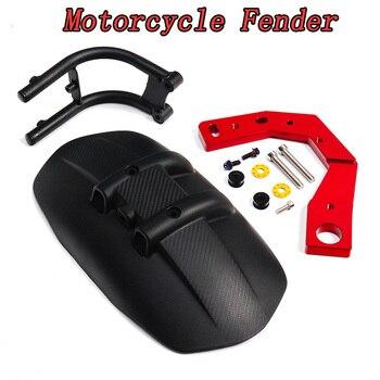 CNC Aluminum Alloy Plastic Rear Wheel Fender Splash Mud Dust Guard Mudguard Motorcycle Accessories For Kymco AK550