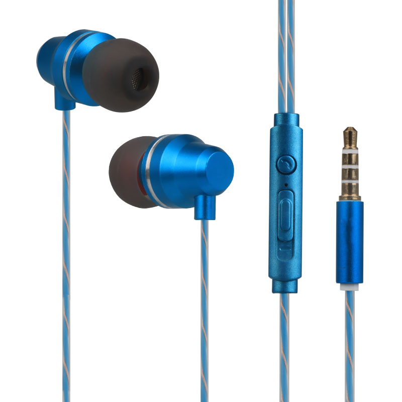 Headphone 3.5mm Music Earbuds Headset with Mic For Samsung Xiaomi iPhone MP3 PC Stereo Sport Gaming Not Bluetooth Earphones  цена