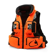 Mesh Breathable Life Vest High Quality Life Vest Multi Pocket Water Safety Products Lightweight Swimming Vest Water Sports 30m life saving rope float line swimming snorkeling safety kit outdoor water sports safety products for life buoy raft orange