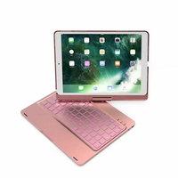 witsp@d Keyboard Case for iPad Pro 10.5 inch 2017/iPad Air 10.5 (3rd Gen) 2019, 360 Rotate BT/Wireless Backlit Keyboard Case
