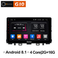 Android 8.1 Unit Multimedia pc for KIA RIO 2017 2018 Car DVD Player Navigation GPS Radio Support DAB+ Car Play Mirro link TPMS