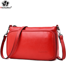 Famous Brand Genuine Leather Women Shoulder Bag Designer Simple Messenger Bags Casual Crossbody Bags for Women 2019 Sac A Main