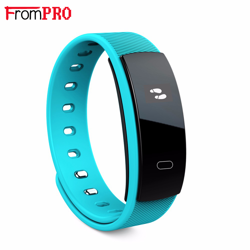 FROMPRO QS80 Smart Bracelet Heart Rate Blood Pressure Fitness Tracker Smart Electronics 0 42 inch OLED