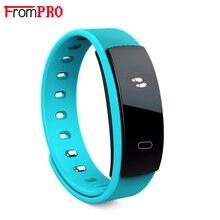 Frompro QS80 смарт-браслет сердечного ритма артериального давления фитнес-трекер smart electronics 0.42 дюймов OLED браслет для BT телефоны