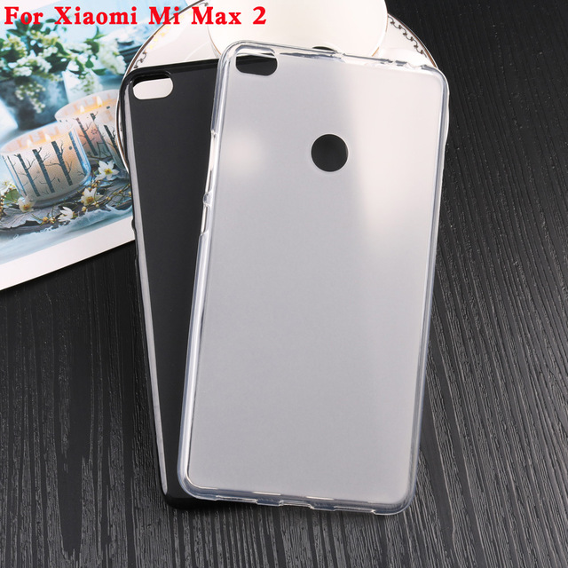 For xiao MI MAX 2/ MAX /MIX Ultra-thin translucent Case Silicone TPU Skin Soft cellphone partsProtective Back Cover