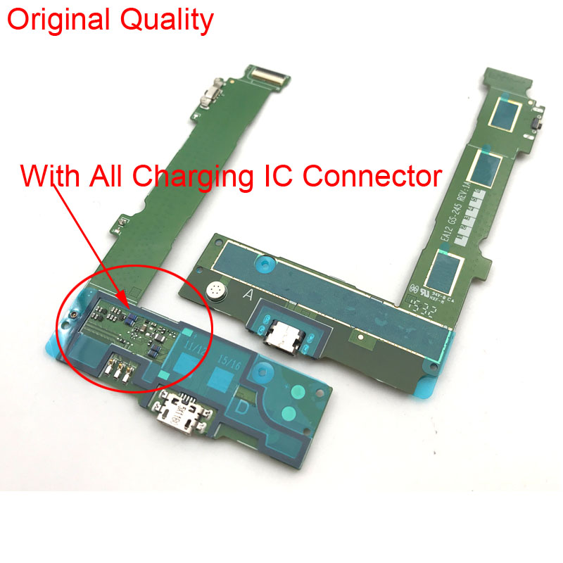 USB Board For Nokia Microsoft Lumia 535 USB Dock Connector With Earphone Audio Jack Flex Cable Charging Port